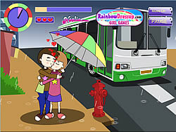 Kissing In The Rain game
