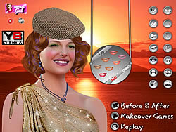 Katherine Heigl Celebrity Makeover game