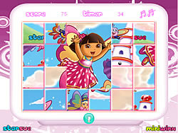 Dora The Explorer Mix-Up game