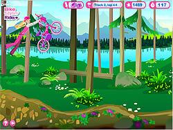 Barbie Bike Stylin' Ride game