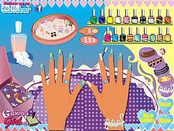 Wedding Nail Makeover game