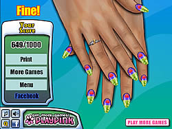 Nail Design Master game