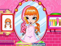 Cutie Trend - Christmas Hair Salon game