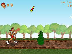 Super Obstacle Girl game