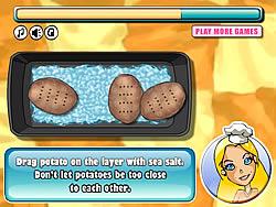 Barbie Baked Potato game
