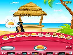 Beachside Stall game