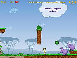 Hippos Feeder game