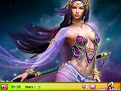 Hidden Stars-Warrior Girl game