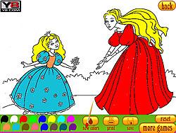Coloring 8 Princesses game