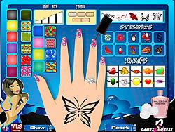 Nail Pedicure game