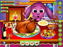 Toto Cooks A Turkey game