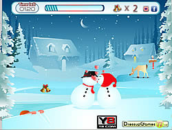 Snow Kiss Fun game