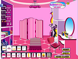 My Girly Chic Dressing Room game