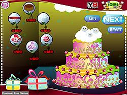 Christmas Cake Decoration 2013 game
