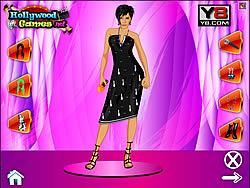 เล่นเกมฟรี Victoria Beckham Dress Up