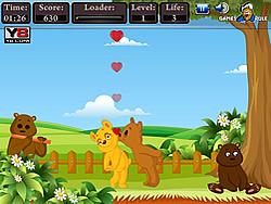 Teddy Love Kiss game