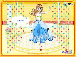 เล่นเกมฟรี Cinderella Ballroom Dress up