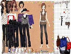 เล่นเกมฟรี Girl in Denim Jeans