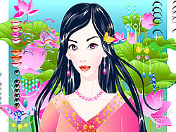 Magic Garden Make up game