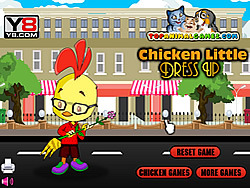 Chicken Little Dress Up game
