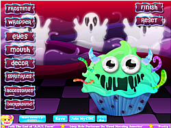 Monster Cupcake Decoration game