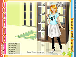 Girl Dressup 28 game