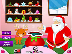 Christmas Magic Santa game