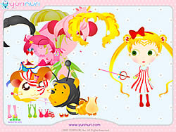 Cartoon Star Dress up game