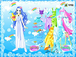 Aquarius Zodiac Dress up game