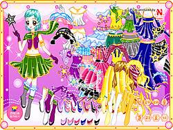 Magic Dress up game