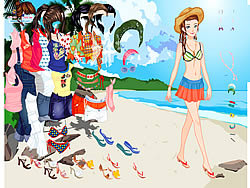 Thailand Beach Dress up game