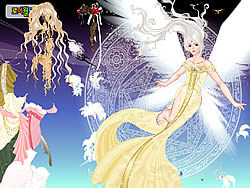 Angel Princess Dressup game