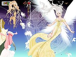 Angel Princess Dressup game