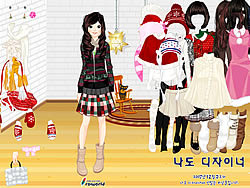 Sweet Holiday Girl game