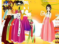 Asian Dressup 2 game