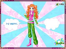 Ginger Star Dressup game