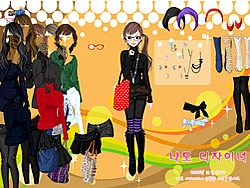 Black Skirts Dressup game