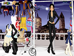 New York Dressup game