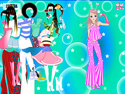 Disco Fever Dressup game