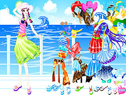 Cruise Star Dressup game