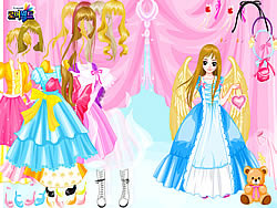 Angel Land Dressup game