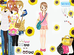 Teen Spring Fashion game
