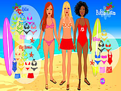 Bikini Team game
