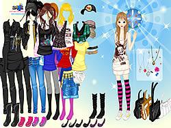 Girl Emo Fashion game