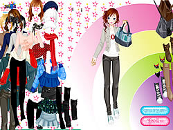 Roi Dressup game