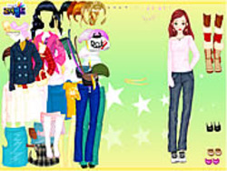 Johana Dressup game