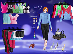 Nike Apparel Dressup game