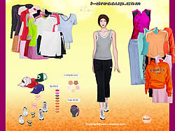Adidas Apparel Dressup game