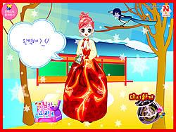 Korean Princess Dressup game