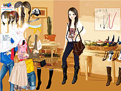 Kathryn In House Dressup game